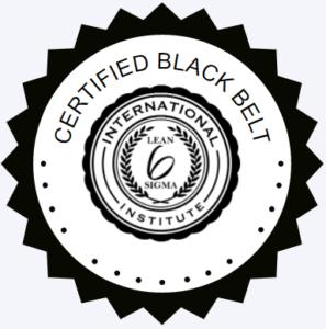 LSSI Certified Black Belt Badge