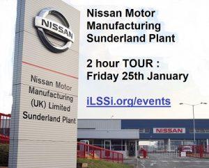 Nissan Sunderland tour Lean Six Sigma