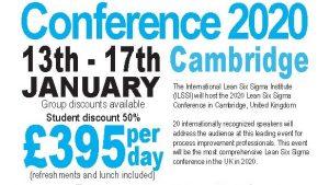 Lean Six Sigma Conference Cambridge