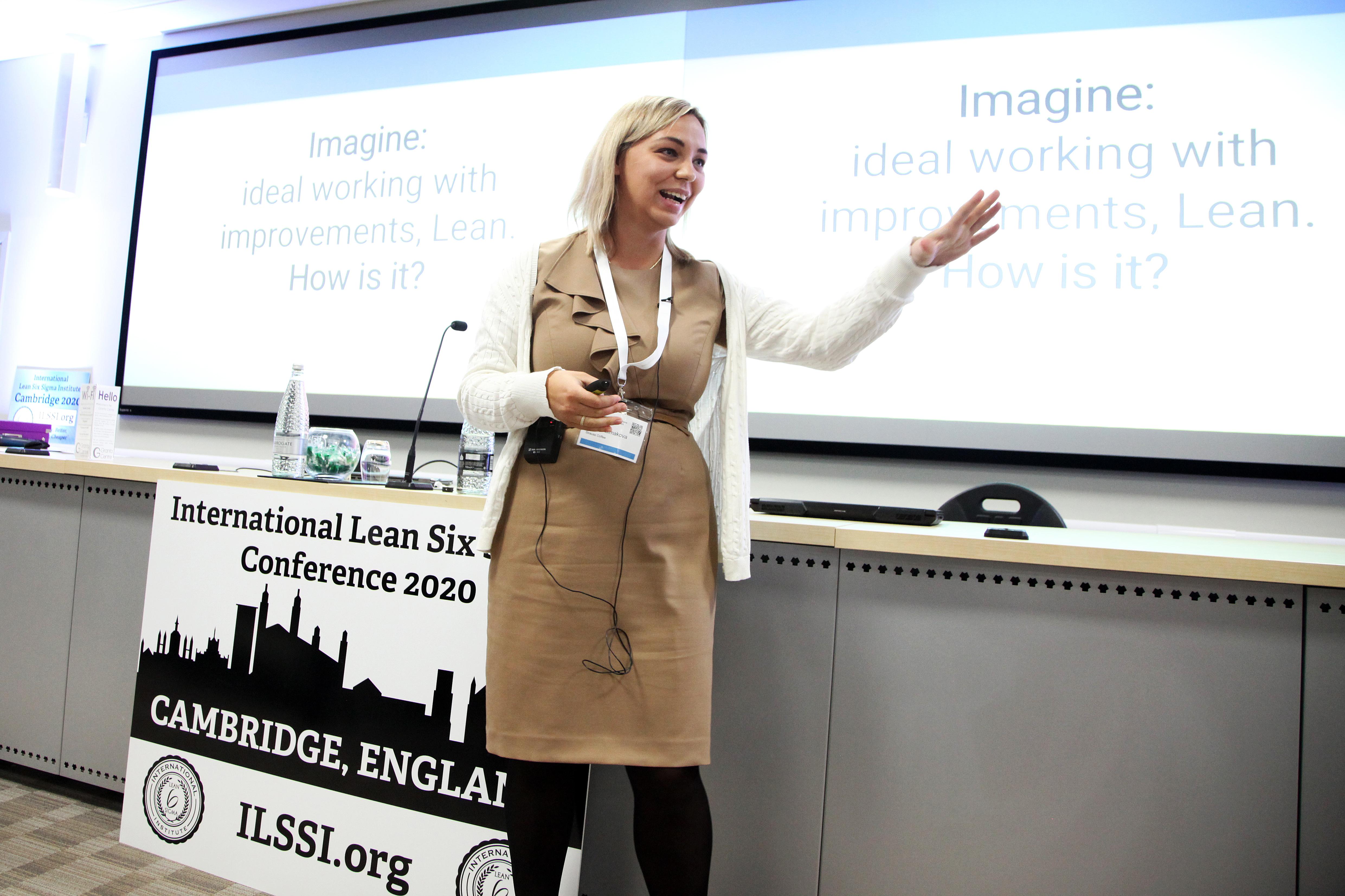 ILSSI Russian Speaker Lean Six Sigma Maria Kolmokova