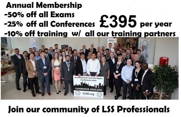 Lean Six Sigma ILSSI Membership Partners Affiliates